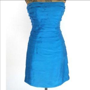 Antonio Melani tiered sheath dress w/ opt straps